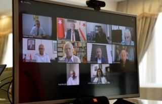 Tatar, cumhurbaşkanlığı ekonomi komitesi ile görüştü