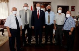 Tatar, Sönmezliler Ocağı'nı kabul etti