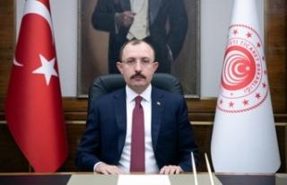 Türkiye Cumhuriyeti Ticaret Bakanı Mehmet Muş DAÜ'yü...