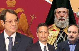 Anastasiadis, Pelekanos, Stefanu ve Başpiskopos'tan...