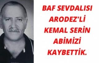 Baf Sevdalısı Arodez'li Kemal Serin'i...