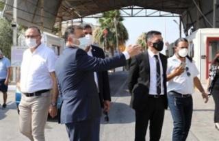 Başbakan Saner, Beyarmudu'nda incelemelerde...