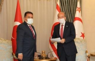 Başbakan Saner, Çağman'ın Bakanlığa yeniden...