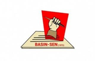 BASIN-SEN'den Serhat İncirli'ye destek