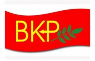 BKP, tek kurtuluş yolunun federal temelde çözüm...