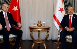 Cumhurbaşkanı Tatar, TC Cumhurbaşkanı Erdoğan...
