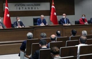 Erdoğan: Adadaki kardeşlerimizle birlikte çifte...