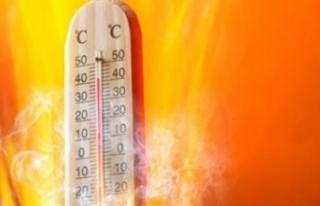 Hava Sıcaklığı Mevsim Normallerinin 3 İle 5 Derece...