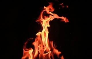 Lefkoşa'da Ev Yangını