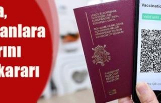 Malta, aşılamasını tamamlamayanlara sınırlarını...