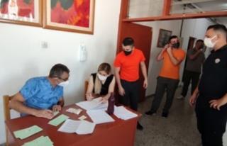 Merkezi Cezaevi'ndeki mahkum ve tutuklulara covid...