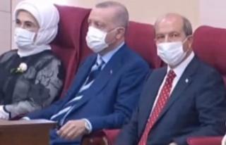 TC Cumhurbaşkanı Erdoğan KKTC Meclisi'nde