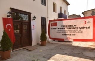 Türk Kızılay KKTC Delegasyonu Başkanlık Ofisi...