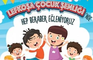 Lefkoşa Çocuk Şenliği 3 ve 4 Eylül'de Merkez...