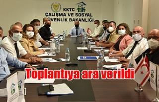 Asgari ücret saptama komisyonu, saat 16.00'da yeniden...