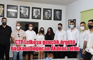 CTP Lefkoşa gençlik örgütü başkanı Doğucan...