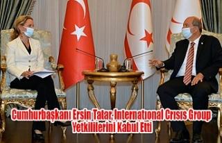Cumhurbaşkanı Ersin Tatar, Internatıonal Crısıs...