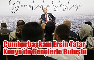 Cumhurbaşkanı Ersin Tatar Konya'da Gençlerle...
