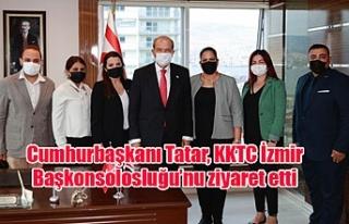 Cumhurbaşkanı Tatar, KKTC İzmir Başkonsolosluğu'nu...