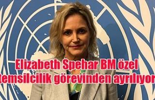 Elizabeth Spehar BM özel temsilcilik görevinden...