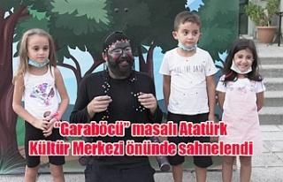 """""""Garaböcü"""" masalı Atatürk Kültür Merkezi..."""