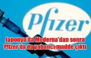 Japonya'da Moderna'dan sonra Pfizer'da...