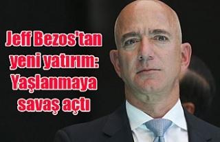 Jeff Bezos'tan yeni yatırım: Yaşlanmaya savaş...