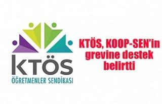 KTÖS, KOOP-SEN'in grevine destek belirtti