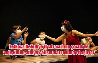 Lefkoşa Belediye tiyatrosu'nun çocuk ve yetişkinler...