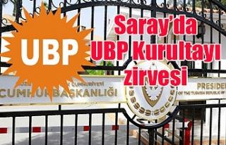 Saray'da UBP Kurultayı zirvesi