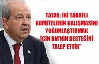 Tatar: İki Taraflı Komitelerin çalışmasını...