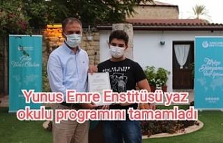 Yunus Emre Enstitüsü yaz okulu programını tamamladı