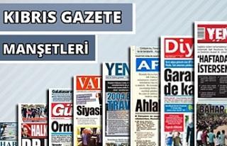 15 Ekim 2021 Cuma Gazete Manşetleri