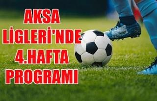 AKSA Ligleri'nde 4.hafta programı