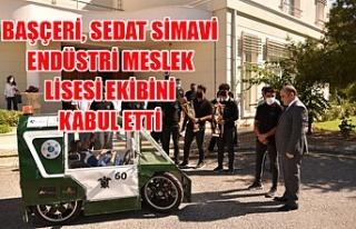 Başçeri, Sedat Simavi Endüstri Meslek Lisesi ekibini...