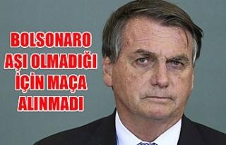 Brezilya Devlet Başkanı Bolsonaro aşı olmadığı...