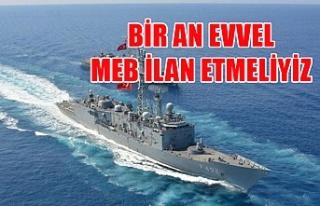 Cihat Yaycı'dan Doğu Akdeniz uyarısı: Bir an...