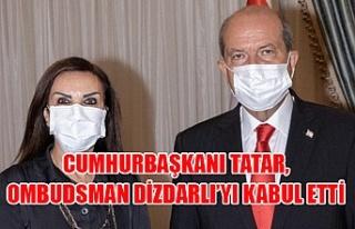 Cumhurbaşkanı Tatar, Ombudsman Dizdarlı'yı kabul...