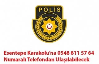Esentepe Karakolu'na 0548 811 57 64 Numaralı Telefondan...