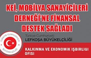 KEİ, Mobilya Sanayicileri Derneği'ne finansal...