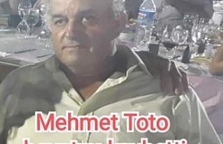 Mehmet Toto hayatını kaybetti