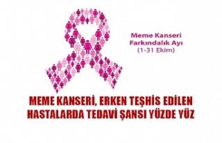 Meme kanseri, erken teşhis edilen hastalarda tedavi...