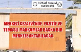 Merkezi Cezaevi'nde pozitif ve temaslı mahkumlar...