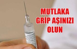 Mutlaka grip aşınızı olun