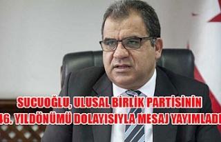 Sucuoğlu, Ulusal Birlik partisinin 46. yıldönümü...