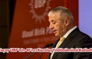 Taçoy UBP'nin 46'ncı Kuruluş Yıldönümünü...