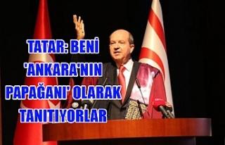 Tatar: Beni 'Ankara'nın papağanı'...