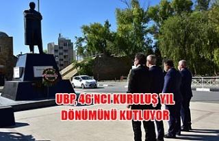 UBP, 46'ncı kuruluş yıl dönümünü kutluyor