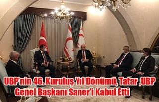 UBP'nin 46. Kuruluş Yıl Dönümü, Tatar UBP Genel...