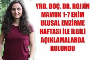 Yrd. Doç. Dr. Rojjin Mamuk 1-7 Ekim Ulusal Emzirme...
